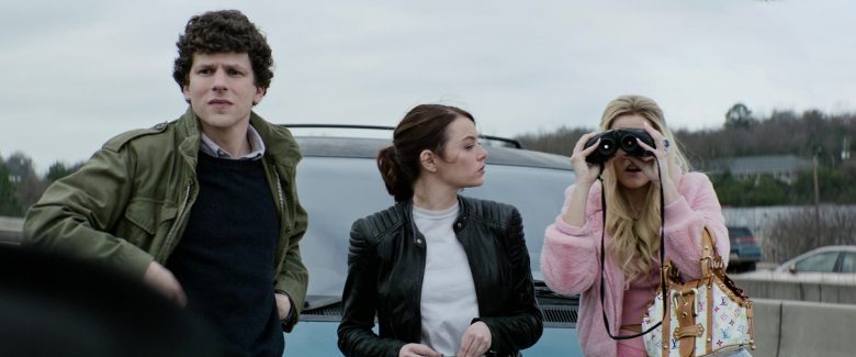 Louis Vuitton Handbag Held by Zoey Deutch as Madison in Zombieland Double Tap (2)