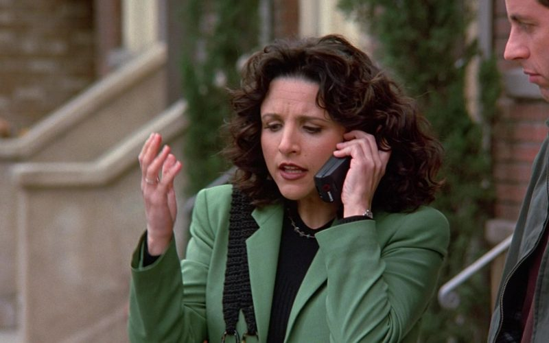 Lucent Mobile Phone Used by Julia Louis-Dreyfus as Elaine Benes in Seinfeld Season 9 Episodes 23-24 The Finale (1)