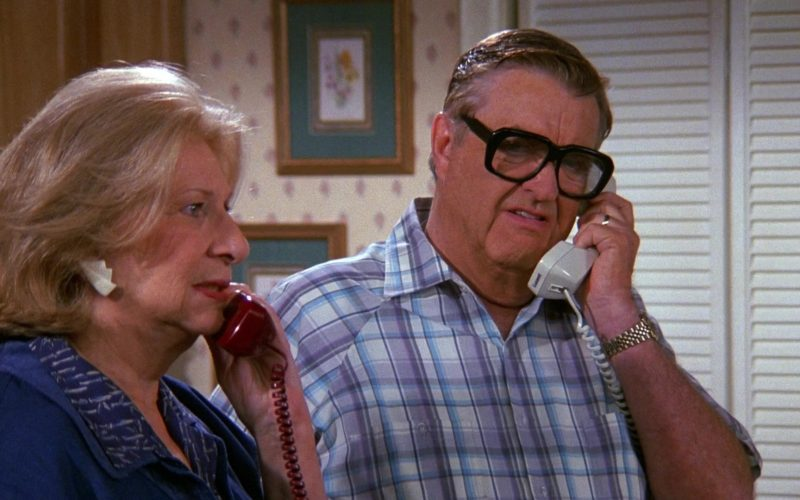 Lucent Phone Used by Barney Martin as Morty Seinfeld in Seinfeld Season 9 Episode 17 The Bookstore