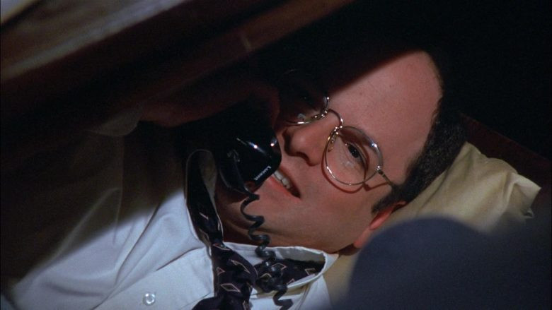 Lucent Phone Used by Jason Alexander as George Costanza in Seinfeld Season 8 Episode 18 The Nap