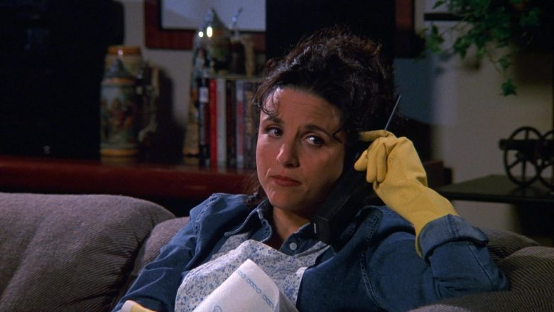 Lucent Phone Used by Julia Louis-Dreyfus as Elaine Benes in Seinfeld Season 9 Episode 17 The Bookstore (2)