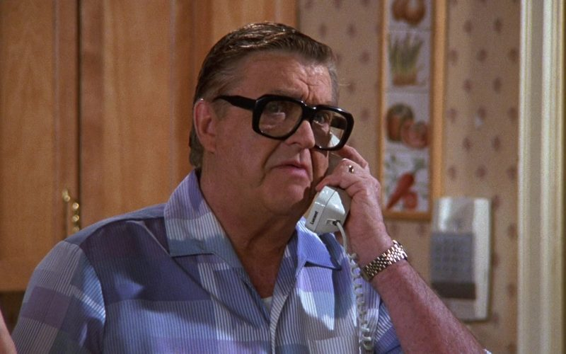 Lucent Telephone Used by Barney Martin as Morty Seinfeld in Seinfeld Season 9 Episodes 23-24 The Finale (2)