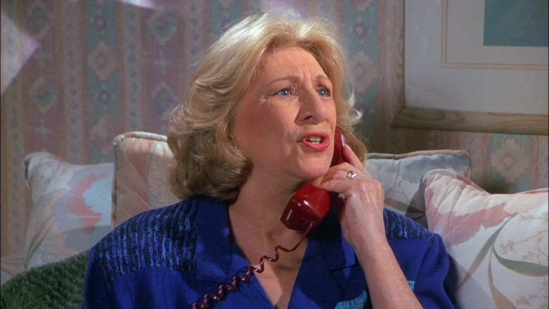 Lucent Telephone Used by Liz Sheridan as Helen in Seinfeld Season 8 Episode 11 The Little Jerry (2)