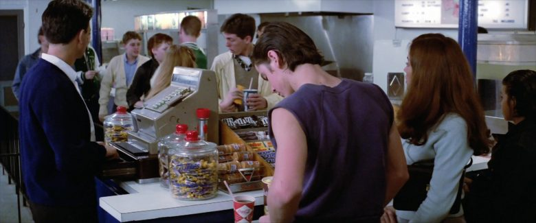 M&M's, Snickers, Coca-Cola in The Outsiders