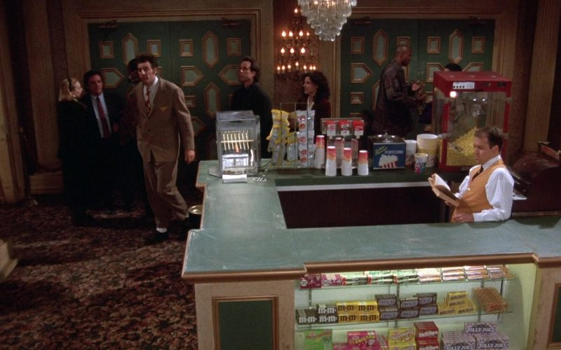 M&M's, Snickers, Jujyfruits, Skittles, Mike and Ike Jolly Joes Candy in Seinfeld Season 7 Episode 10