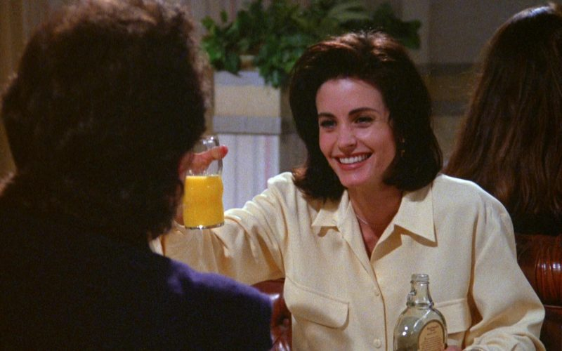 MacDonald's Maple Syrup Held by Courteney Cox in Seinfeld Season 5 Episode 17 (1)