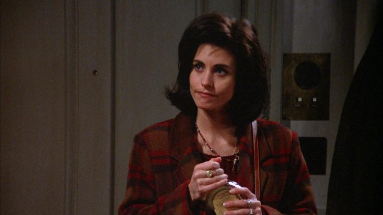 MacDonald's Maple Syrup Held by Courteney Cox in Seinfeld Season 5 Episode 17 (5)