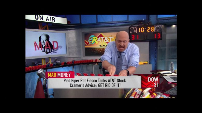 Mad Money TV Show by CNBC and AT&T in Silicon Valley Season 6 Episode 7
