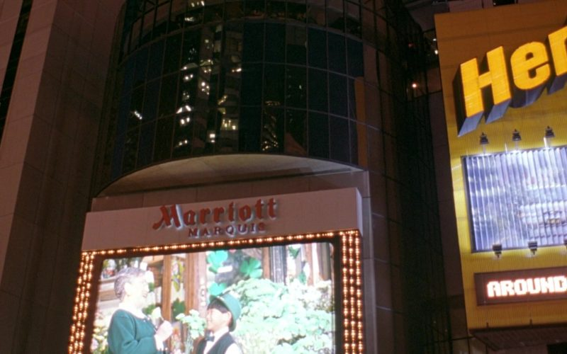 Marriott Marquis Hotel in Seinfeld Season 6 Episode 19 The Jimmy (1)