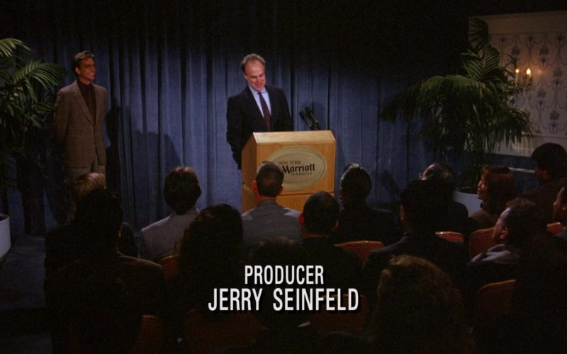 Marriott New York Hotel in Seinfeld Season 6 Episode 13 The Scofflaw