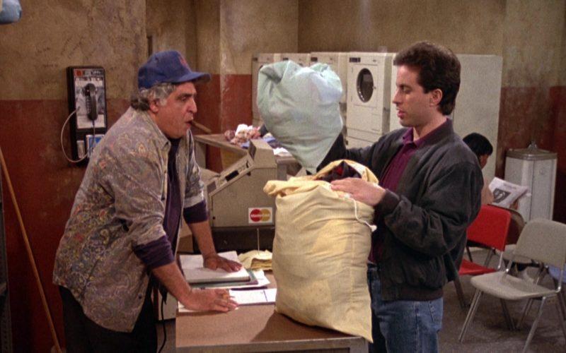 Mastercard in Seinfeld Season 2 Episode 7 The Revenge (1991)