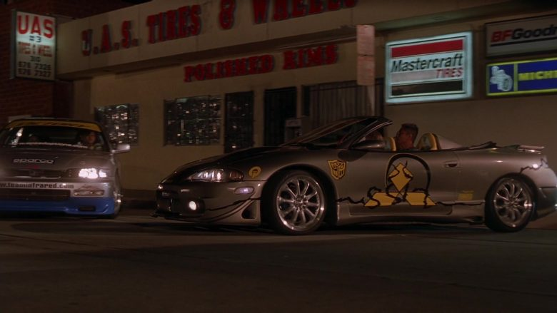 Mazda Convertible Car in The Fast and the Furious