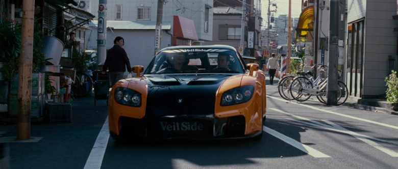 Mazda RX-7 Car x Veilside in The Fast and the Furious Tokyo Drift (1)