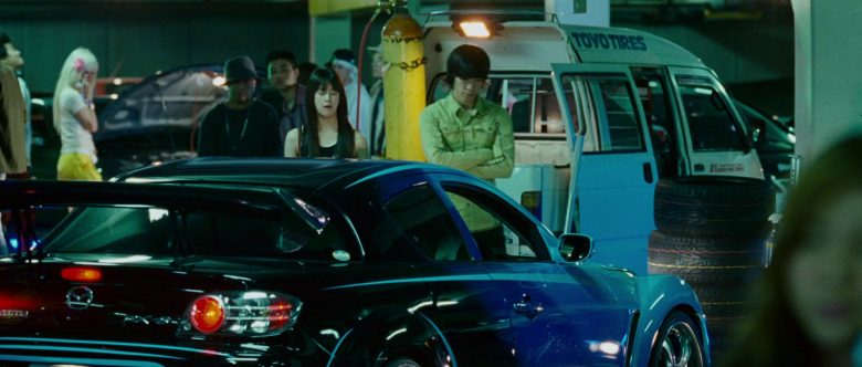 Mazda RX-8 Car in The Fast and the Furious Tokyo Drift