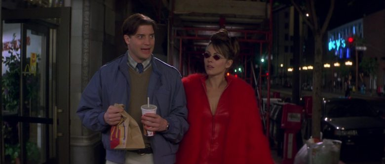 McDonald's Food and Drink Held by Brendan Fraser in Bedazzled