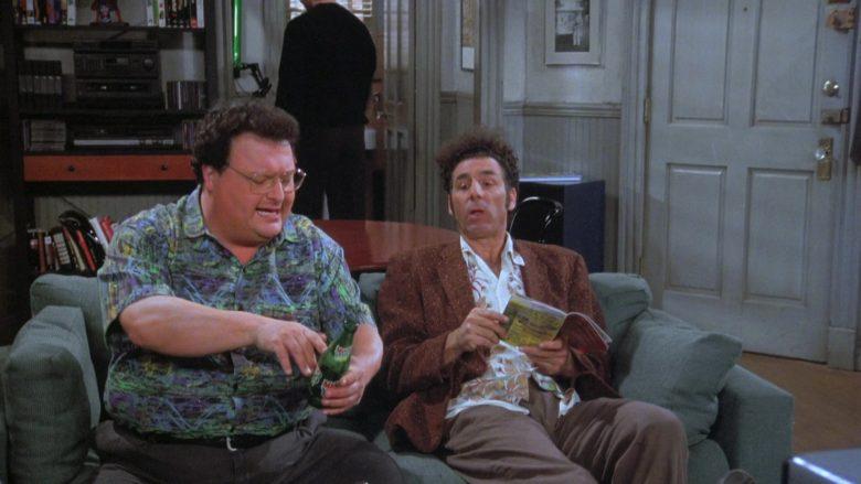 Mello Yello Soda Enjoyed by Wayne Knight as Newman in Seinfeld Season 7 Episode 21-22 (1)