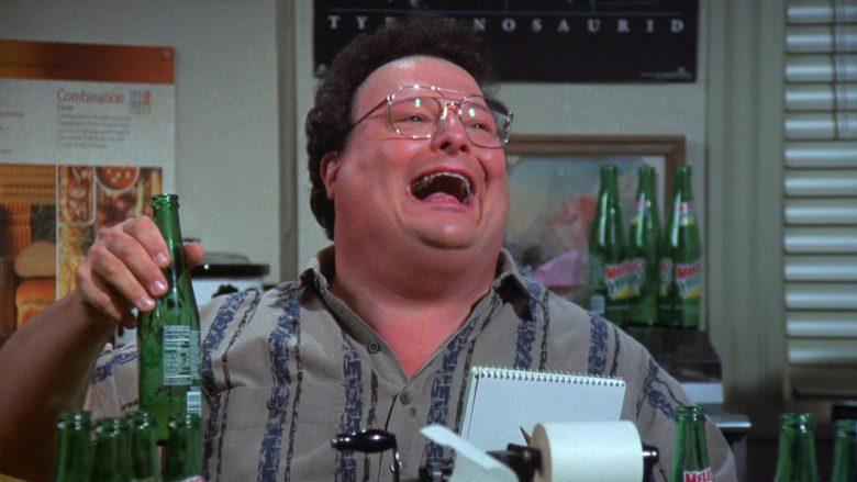 Mello Yello Soda Enjoyed by Wayne Knight as Newman in Seinfeld Season 7 Episode 21-22 (12)