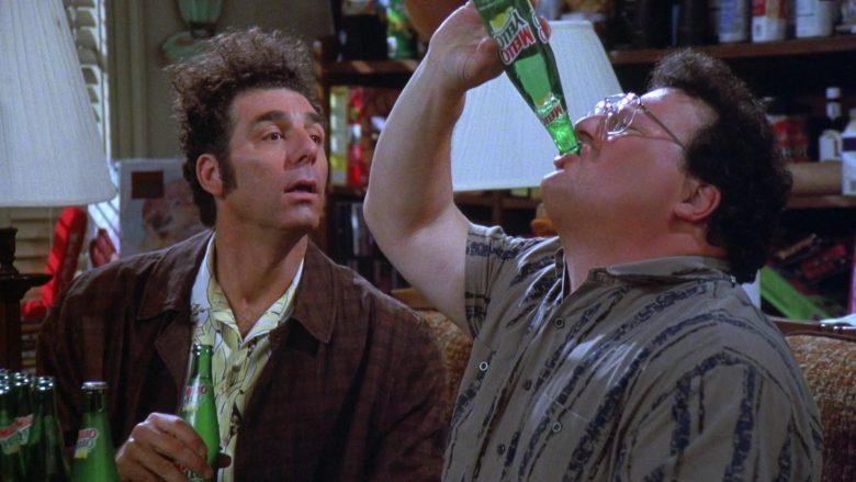Mello Yello Soda Enjoyed by Wayne Knight as Newman in Seinfeld Season 7 Episode 21-22 (13)