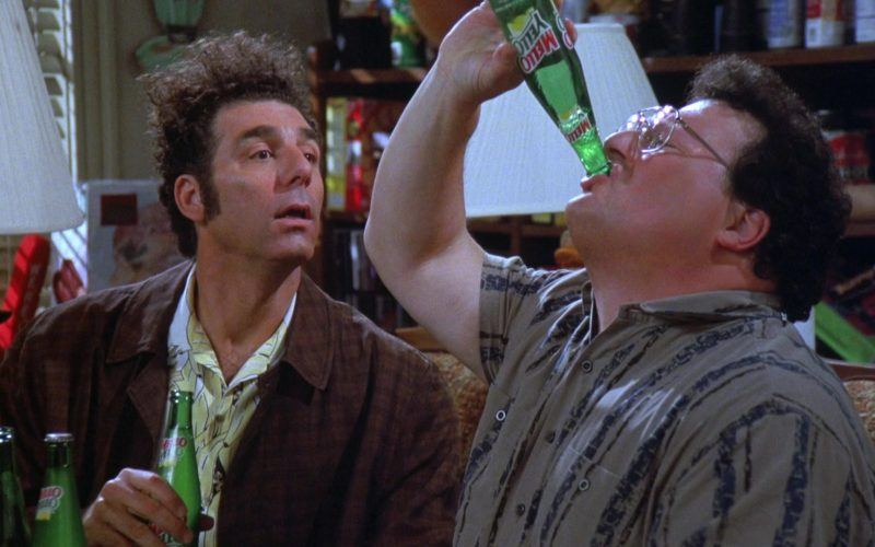 Mello Yello Soda Enjoyed by Wayne Knight as Newman in Seinfeld Season 7 Episode 21-22 (13)