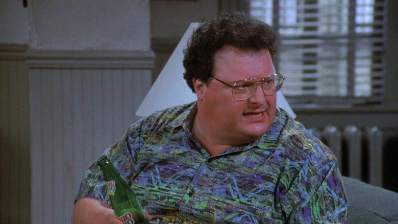 Mello Yello Soda Enjoyed by Wayne Knight as Newman in Seinfeld Season 7 Episode 21-22 (2)