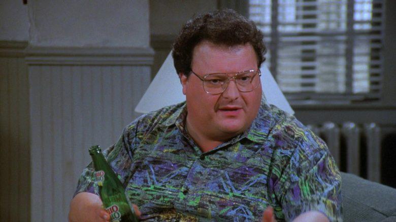 Mello Yello Soda Enjoyed by Wayne Knight as Newman in Seinfeld Season 7 Episode 21-22 (3)