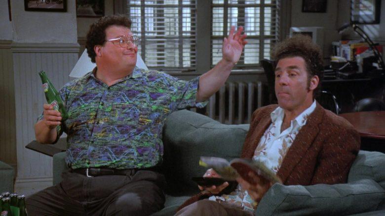 Mello Yello Soda Enjoyed by Wayne Knight as Newman in Seinfeld Season 7 Episode 21-22 (4)