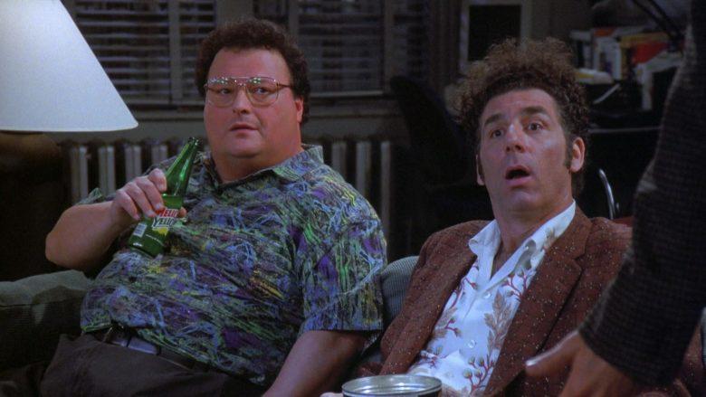 Mello Yello Soda Enjoyed by Wayne Knight as Newman in Seinfeld Season 7 Episode 21-22 (7)