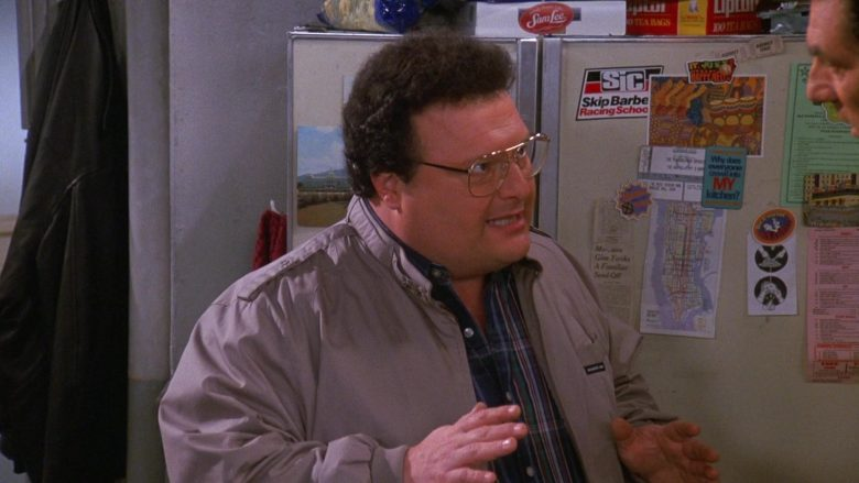 Members Only Jacket Worn by Wayne Knight as Newman in Seinfeld Season 9 Episode 17 The Bookstore (1)
