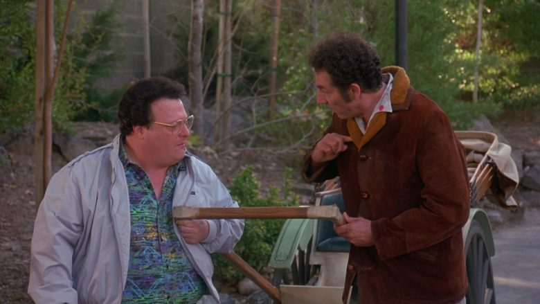 Members Only Jacket Worn by Wayne Knight as Newman in Seinfeld Season 9 Episode 17 The Bookstore (3)