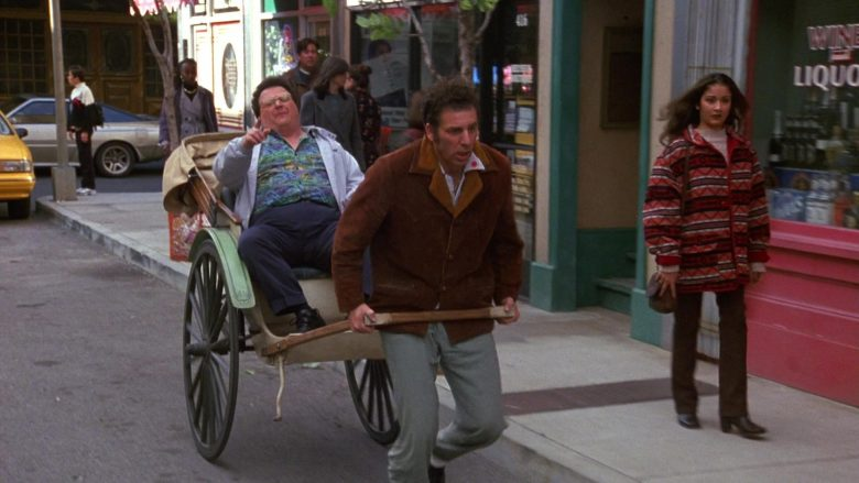 Members Only Jacket Worn by Wayne Knight as Newman in Seinfeld Season 9 Episode 17 The Bookstore (4)