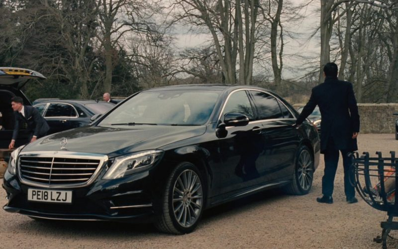 Mercedes-Benz S-Class Vehicle in Succession Season 1 Episode 9 Pre-Nuptial (2)