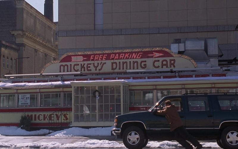 Mickey's Dining Car in Jingle All the Way