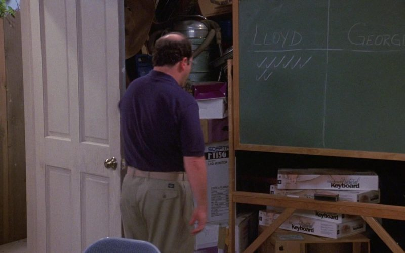 Microsoft Keyboards in Seinfeld Season 9 Episode 3 The Serenity Now (1)