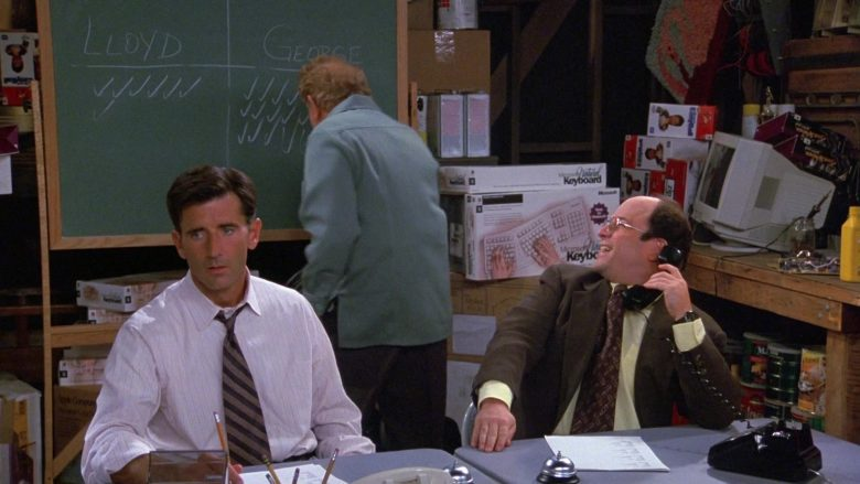 Microsoft Keyboards in Seinfeld Season 9 Episode 3 The Serenity Now (3)