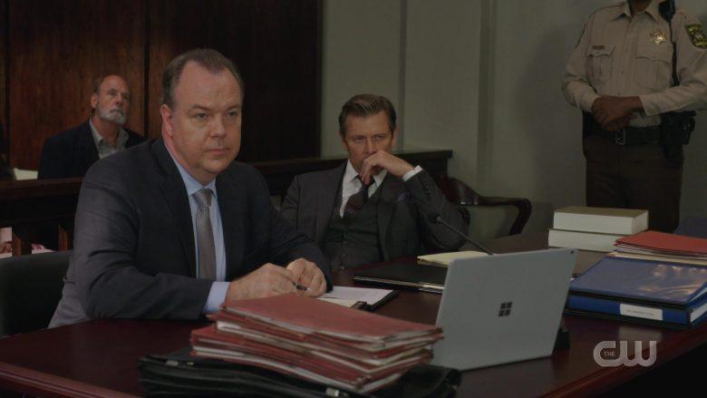Microsoft Surface Laptop in Dynasty Season 3 Episode 8 (1)
