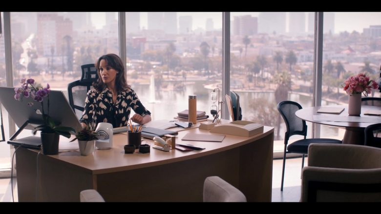Microsoft Surface Studio All-In-One PC Used by Jennifer Beals as Bette Porter in The L Word Generation Q Season 1 Epi