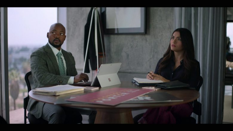 Microsoft Surface Tablet in The L Word Generation Q Season 1 Episode 2 Less Is More (2)
