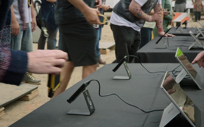 Microsoft Surface Tablets in Silicon Valley Season 6 Episode 6 RussFest