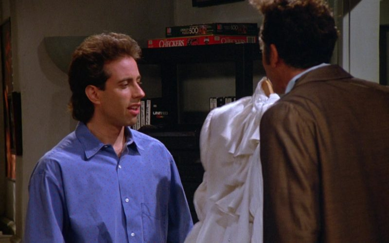 Milton Bradley Puzzle in Seinfeld Season 5 Episode 2 The Puffy Shirt