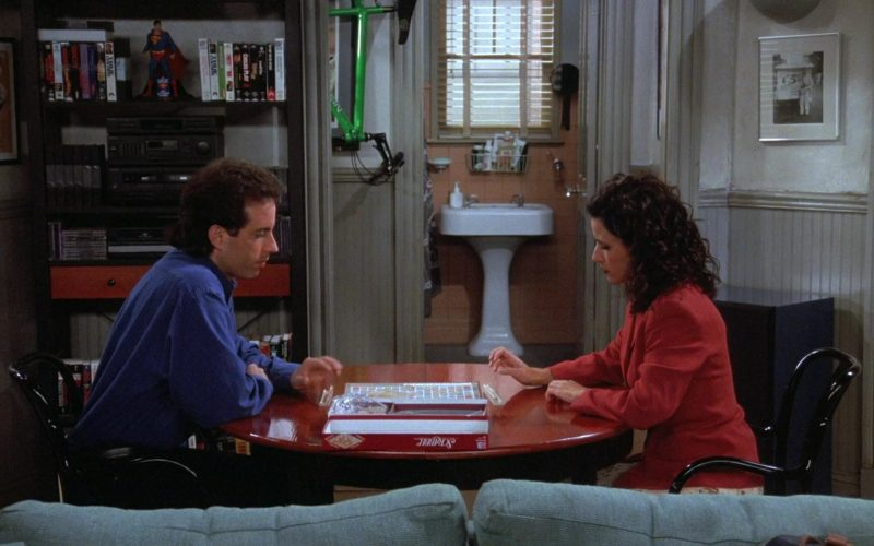 Milton Bradley Scrabble Board Game in Seinfeld Season 7 Episode 4 The Wink (1)