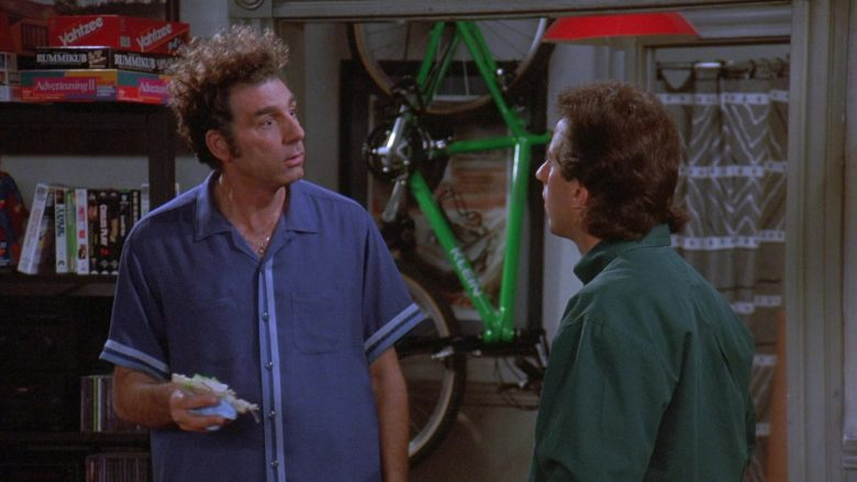 Milton Bradley Yahtzee Game and Klein Bicycle in Seinfeld Season 7 Episode 8 The Pool Guy (1)