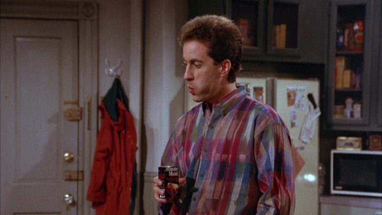 Minute Maid Juice Enjoyed by Jerry Seinfeld in Seinfeld Season 3 Episode 8 The Tape (3)