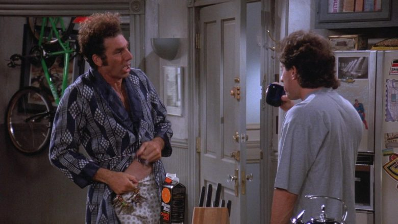 """Minute Maid Orange Juice in Seinfeld Season 7 Episode 3 """"The Maestro"""" (1995) - TV Show Product Placement"""