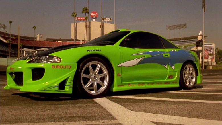 Mitsubishi Eclipse 2G Green Car in The Fast and the Furious (1)