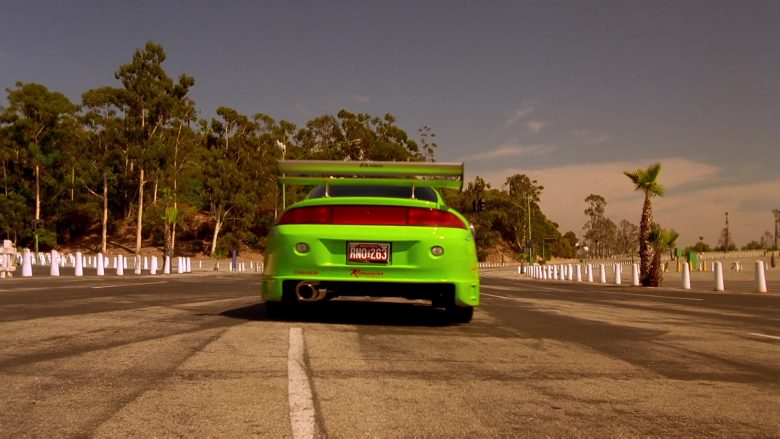 Mitsubishi Eclipse 2G Green Car in The Fast and the Furious (2)