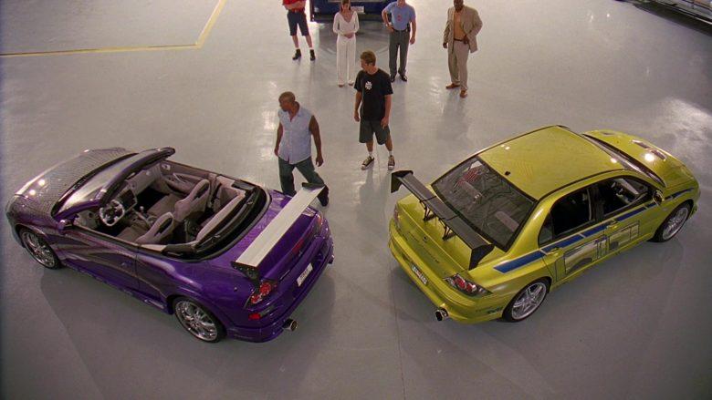 Mitsubishi Eclipse Spyder GTS 3G Car in 2 Fast 2 Furious (1)