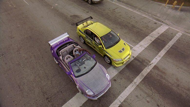 Mitsubishi Eclipse Spyder GTS 3G Car in 2 Fast 2 Furious (2)