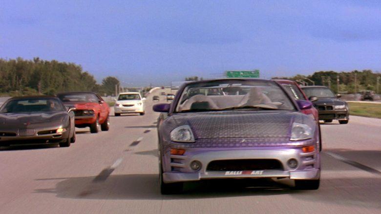 Mitsubishi Eclipse Spyder GTS 3G Car in 2 Fast 2 Furious (5)
