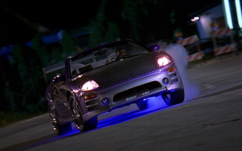Mitsubishi Eclipse Spyder GTS 3G Car in 2 Fast 2 Furious (7)