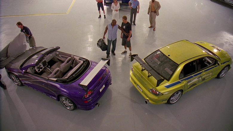 Mitsubishi Lancer Evolution VII [CT9A] Car in 2 Fast 2 Furious (1)